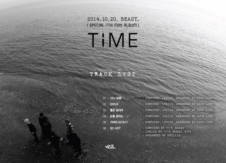 B2ST Tracklist
