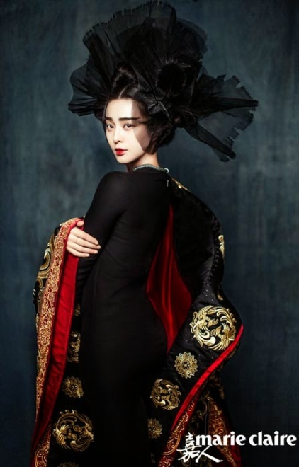 Fan Bingbing by Chen Man for Marie Claire China January 2015 2