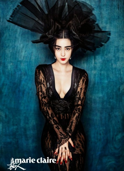 Fan Bingbing by Chen Man for Marie Claire China January 2015 3