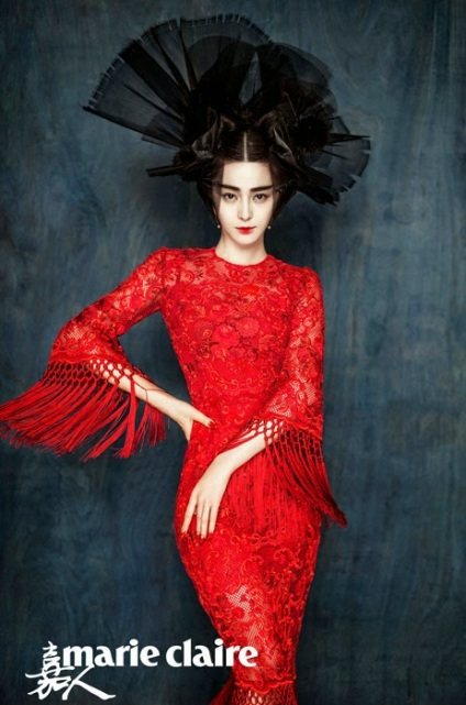 Fan Bingbing by Chen Man for Marie Claire China January 2015 4
