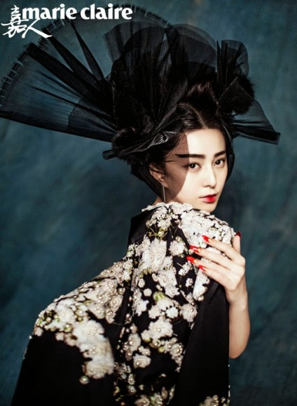 Fan Bingbing by Chen Man for Marie Claire China January 2015 5