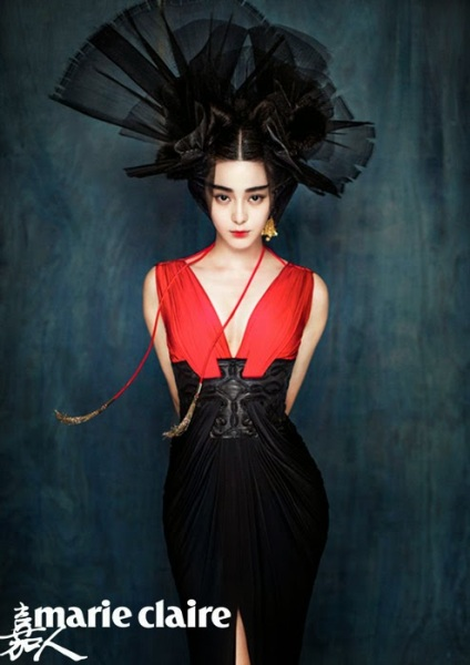 Fan Bingbing by Chen Man for Marie Claire China January 2015 6